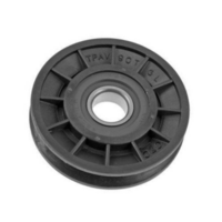 Replaces PIFBB02 - Flat Idler Pulley with Bearing